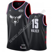 Camisetas NBA Baratas Charlotte Hornets 2019 Kemba Walker 15# Negro All Star Game Swingman..